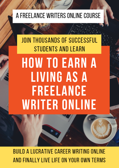 How to Earn a Living as a Freelance Writer Online course cover